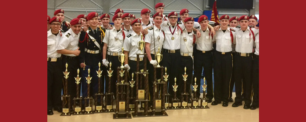 Flannigan Rifles Drill Team Places First at Concordia
