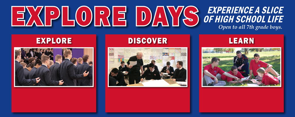 Explore Days for 7th Grade Students