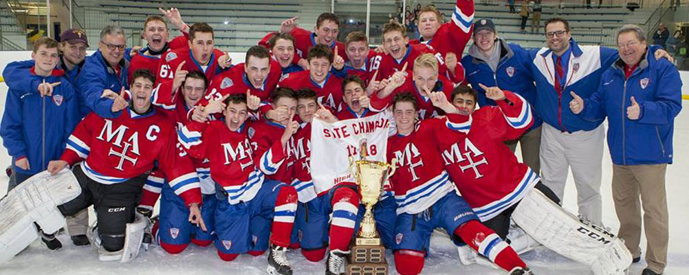 hockey state champs