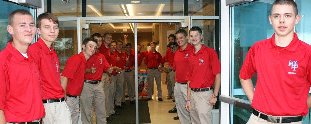 Marmion MENtors welcome new students