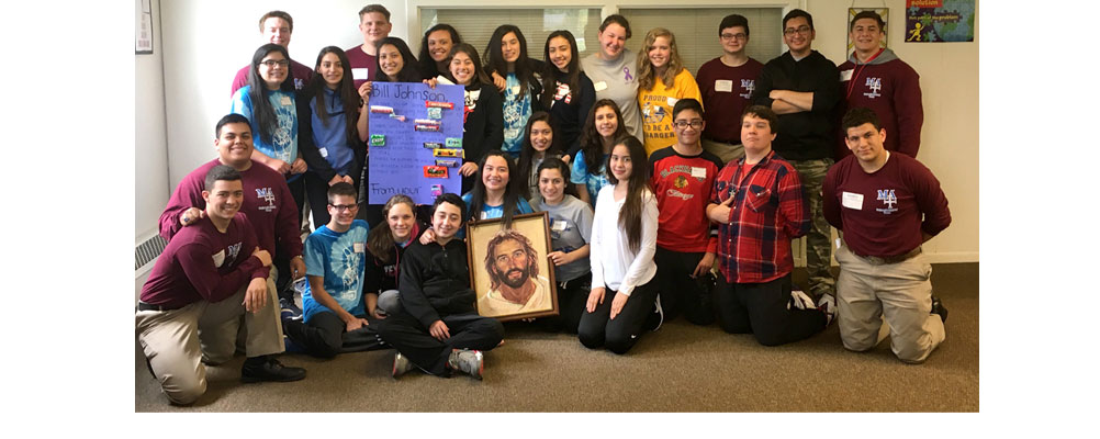 Day of Reflection for St. Joseph 8th Grade Students