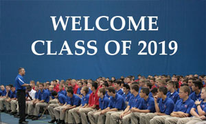 Mr. Tinerella Welcomes Largest Incoming Freshman Class
