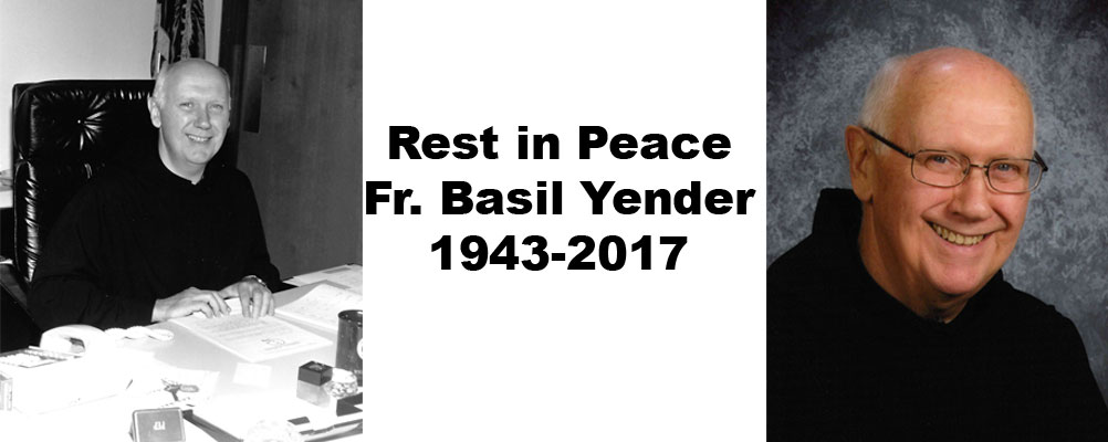 Rest in Peace Fr. Basil